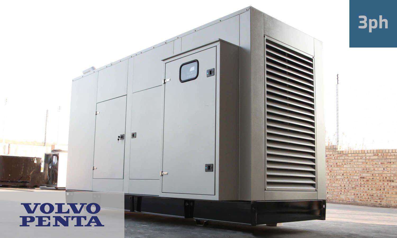 VOLVO 500KVA 3 PHASE (GKV-550) Generator for Sale | Volvo Penta Generators South Africa | Generator King