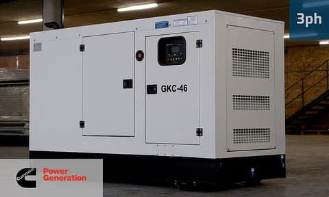 CUMMINS 42KVA 3 PHASE (GKC-46) Diesel Generator for Sale | Cummins Generators South Africa | Generator King