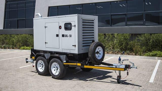 Mobile Diesel Generator for Sale | Trailer Generator | Generator King