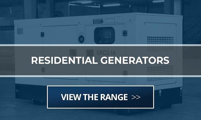 Residential Diesel Generator for Sale | Generators for home South Africa | Generator King