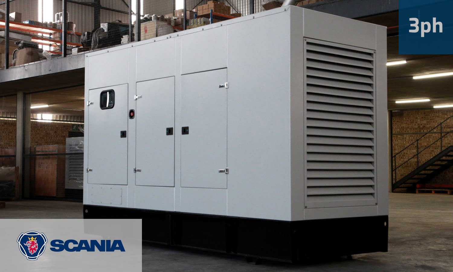 SCANIA 250KVA 3 PHASE (GKS-265) Diesel Generator for Sale | Scania Generators South Africa | Generator King