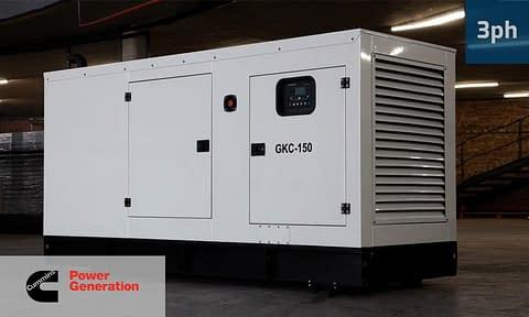 CUMMINS 132KVA 3 PHASE (GKC-150) Diesel Generator for Sale | Cummins Generators South Africa | Generator King