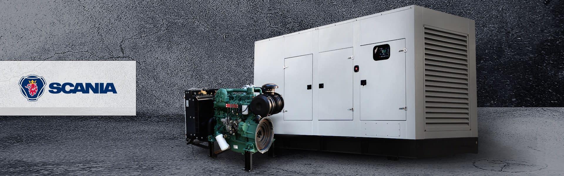 Scania Diesel Generator for Sale | Scania Generator South Africa | Generator King