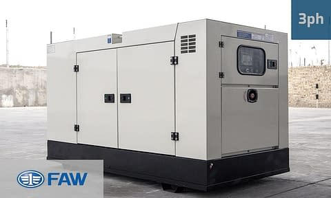 FAW 23KVA 3 PHASE SUPERSILENT (GKO3-25 SS) Diesel Generator for Sale | FAW Generators South Africa | Generator King
