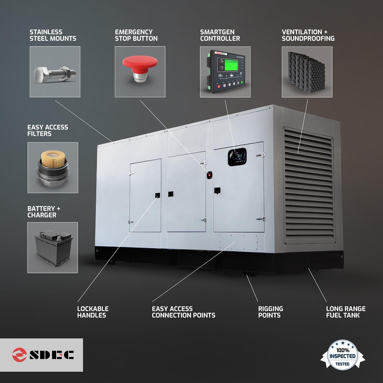 Diesel Generator for Sale | SDEC Generators Features | Generator King
