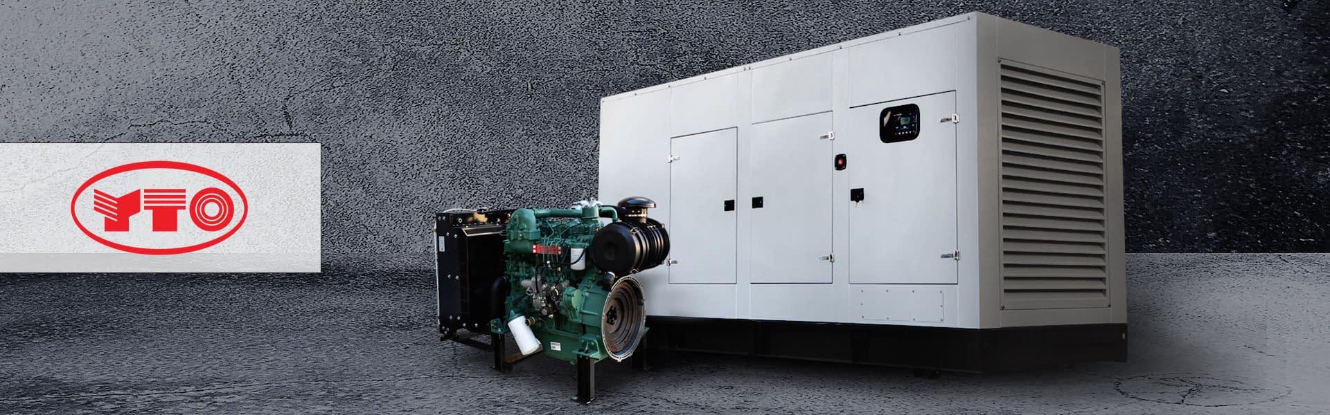 YTO Diesel Generator for Sale | YTO Generator South Africa | Generator King