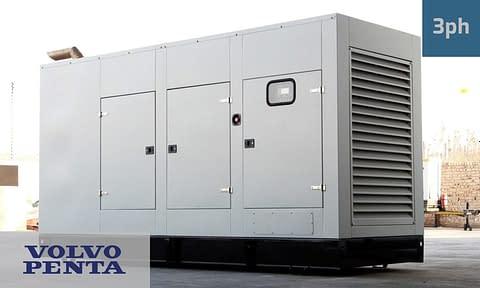 VOLVO 400KVA 3 PHASE (GKV-440) Generator for Sale   Volvo Penta Generators South Africa   Generator King