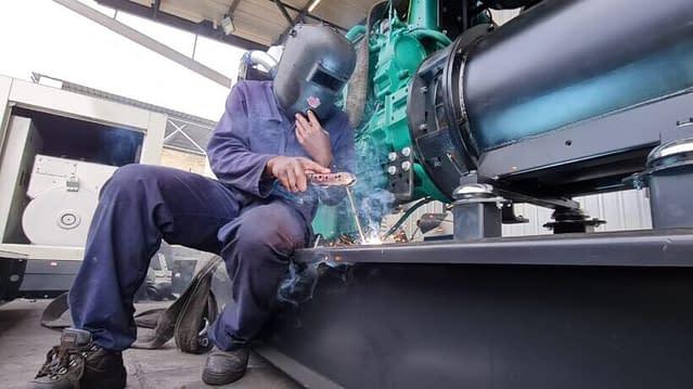 Diesel Generator Welding | Diesel Generator South Africa | Generator King