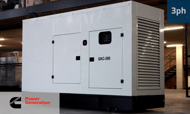 CUMMINS 180KVA 3 PHASE (GKC-200) Diesel Generator for Sale | Cummins Generators South Africa | Generator King