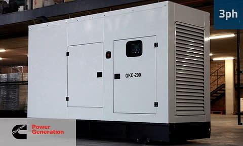 CUMMINS 180KVA 3 PHASE (GKC-200) Diesel Generator for Sale   Cummins Generators South Africa   Generator King