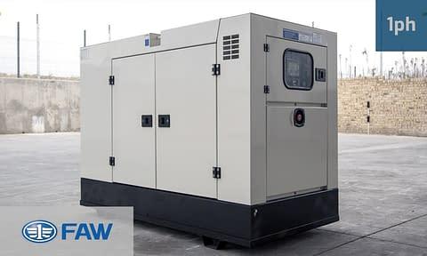 FAW 20KVA SINGLE PHASE SUPERSILENT (GKOS-22 SS) Diesel Generator for Sale | FAW Generators South Africa | Generator King