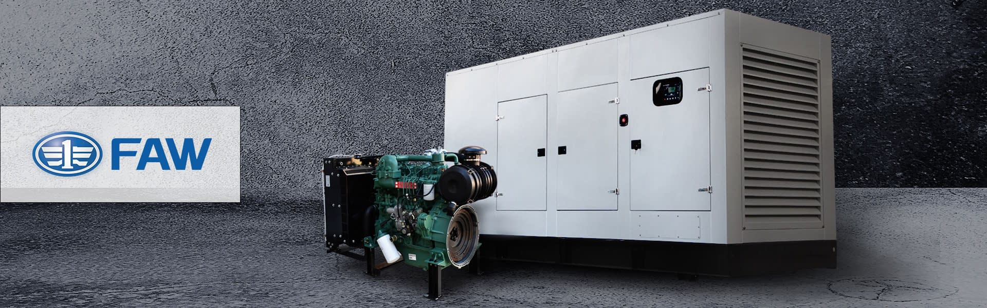 FAW Diesel Generator for Sale | FAW Generator South Africa | Generator King