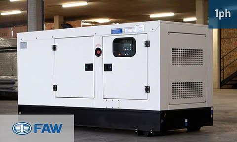 FAW 20KVA SINGLE PHASE (GKOS-22) Diesel Generator for Sale | FAW Generators South Africa | Generator King