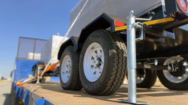 Mobile Diesel Generator on Trailer | Generator King