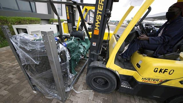 Diesel Generator Engine on Forklift | Generator King