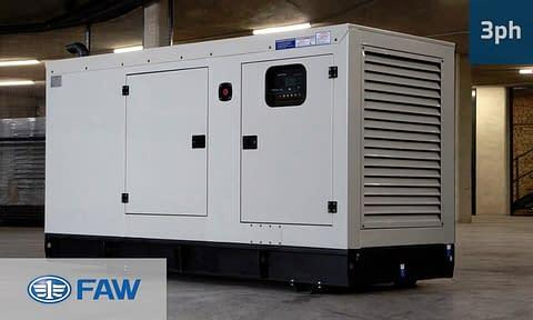 FAW 90KVA 3 PHASE (GKO3-100) Diesel Generator for Sale | FAW Generators South Africa | Generator King