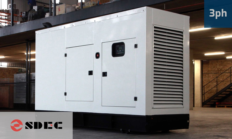 SDEC 200KVA 3 PHASE (GKDS-220) Diesel Generator for Sale | SDEC Generators South Africa | Generator King