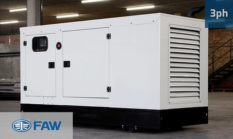 FAW 60KVA 3 PHASE (GKO3-66) Diesel Generator for Sale | FAW Generators South Africa | Generator King