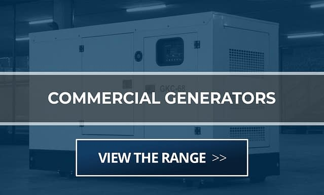 Commercial Diesel Generator for Sale | Generators for Office South Africa | Generator King