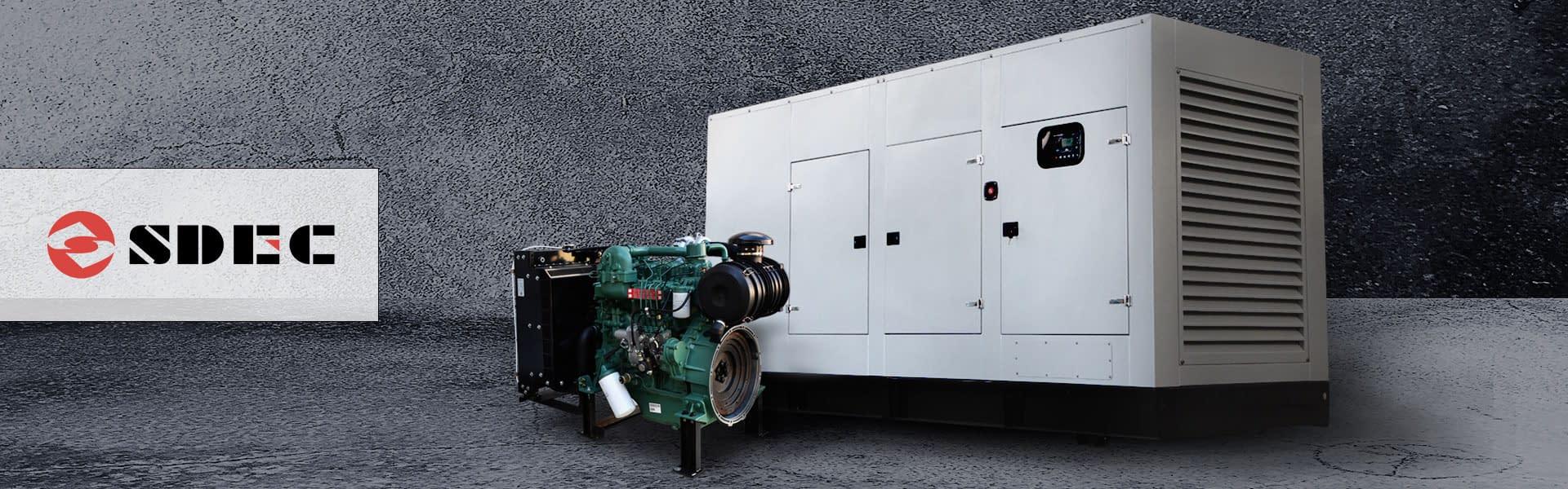 SDEC Diesel Generator for Sale | SDEC Generator South Africa | Generator King