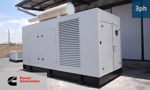 CUMMINS 1000KVA 3 PHASE (GKC-1100) Diesel Generator for Sale | Cummins Generators South Africa | Generator King