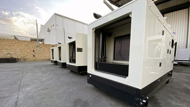 Diesel Generator Construction | Generator for sale South Africa | Generator King