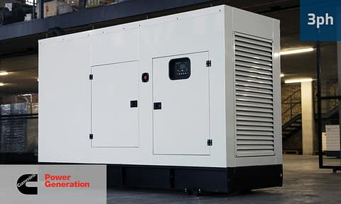 CUMMINS 200KVA 3 PHASE (GKC-220) Diesel Generator for Sale | Cummins Generators South Africa | Generator King