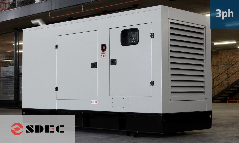 SDEC 112KVA 3 PHASE (GKDS-123) Diesel Generator for Sale | SDEC Generators South Africa | Generator King