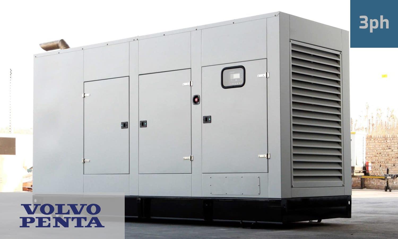 VOLVO 450KVA 3 PHASE (GKV-500) Generator for Sale | Volvo Penta Generators South Africa | Generator King