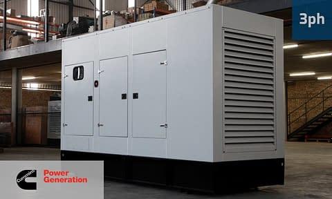 CUMMINS 250KVA 3 PHASE (GKC-275) Diesel Generator for Sale | Cummins Generators South Africa | Generator King