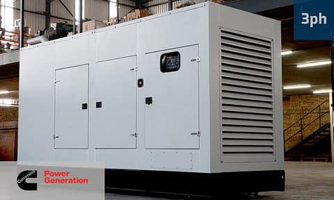 CUMMINS 300KVA 3 PHASE (GKC-330) Diesel Generator for Sale | Cummins Generators South Africa | Generator King