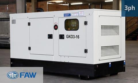 FAW 15KVA 3 PHASE (GKO3-16) Diesel Generator for Sale | FAW Generators South Africa | Generator King