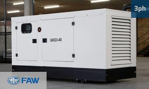 FAW 30KVA 3 PHASE (GKO3-33) Diesel Generator for Sale | FAW Generators South Africa | Generator King