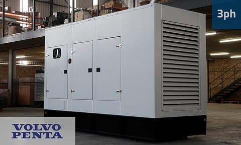 VOLVO 200KVA 3 PHASE (GKV-220) Generator for Sale   Volvo Penta Generators South Africa   Generator King