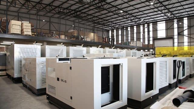 Diesel Generator Warehouse | Generator King